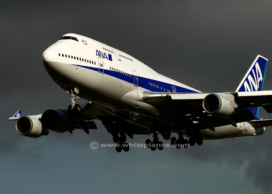 740107ba   - All Nippon Airways Boeing 747-400