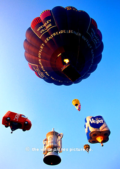 BAL0022 – Various Hot Air Balloons